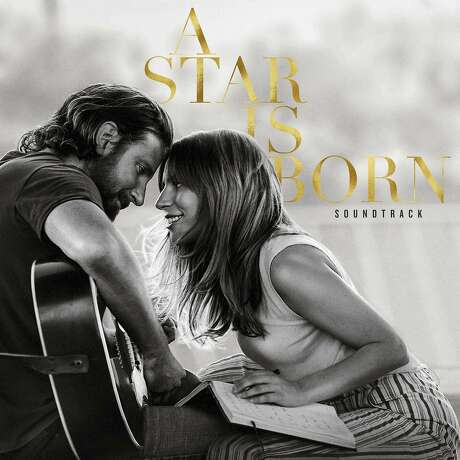 """This cover image released by Interscope Records shows the original motion picture soundtrack for """"A Star is Born,"""" featuring Bradley Cooper and Lady Gaga. Photo: Associated Press"""