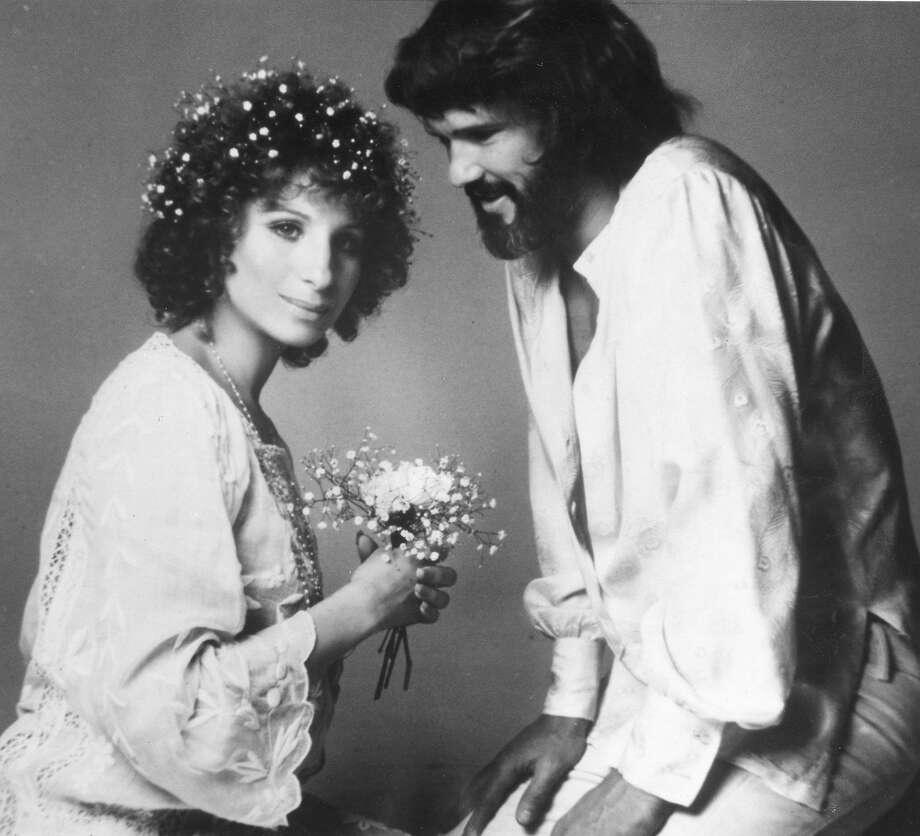 Barbra Streisand and Kris Kristofferson in A Star is Born HANDOUT PHOTO Ran 11/2/1980, p.10 TV Week