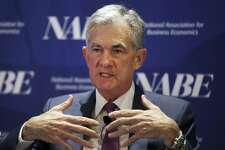Federal Reserve Chairman Jerome Powell speaks at the the National Association for Business Economics in Boston this month. Monetary policy should not be driven by politics - most administrations have understood what is at risk.