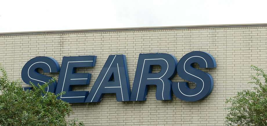 Signage at Central Mall's Sears in Port Arthur. Click through to see retailers predicted to collapse in 2018-19. Photo: Guiseppe Barranco/The Enterprise