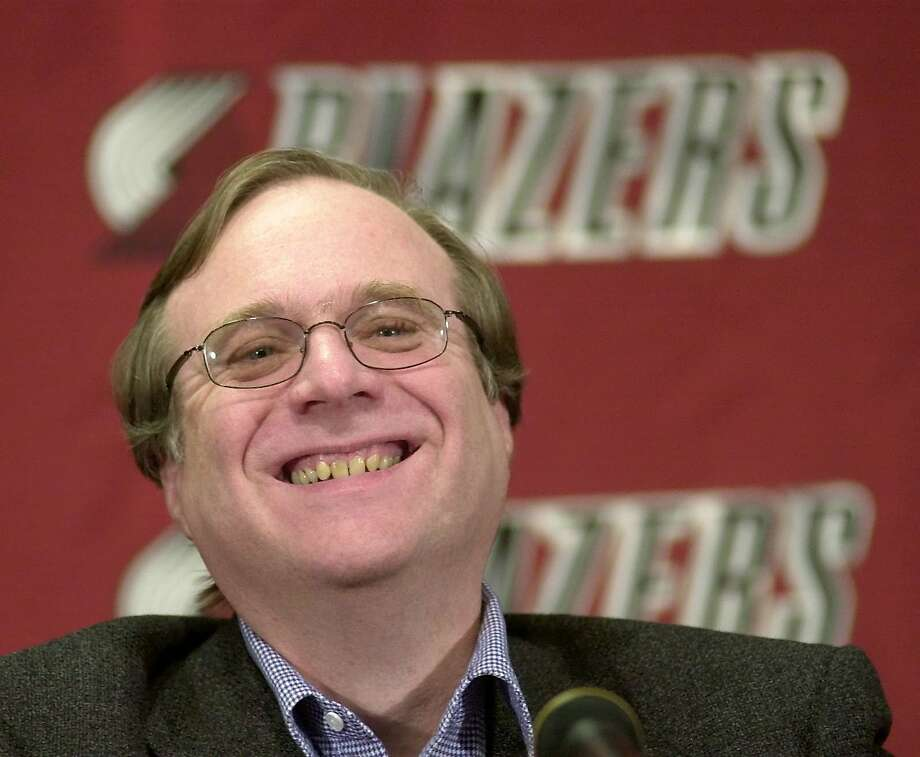 Allen also owned the NBA's Portland Trail Blazers and was a minority owner of the Seattle Sounders (MLS).  Photo: Don Ryan, Associated Press