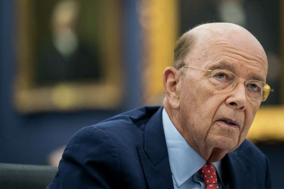 FILE — Wilbur Ross, the Trump administration's commerce secretary, testifies on Capitol Hill in Washington, March 20, 2018. Ross now acknowledges discussing the idea of adding a citizenship question to the 2020 census with Stephen Bannon, after telling Congress earlier this year saying he had not. Voting rights groups contend that the question is intended to discourage immigrants. (Erin Schaff/The New York Times) Photo: ERIN SCHAFF / NYTNS