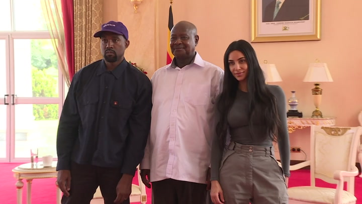 Kanye West meets Uganda's president, gifts pair of sneakers - Times Union