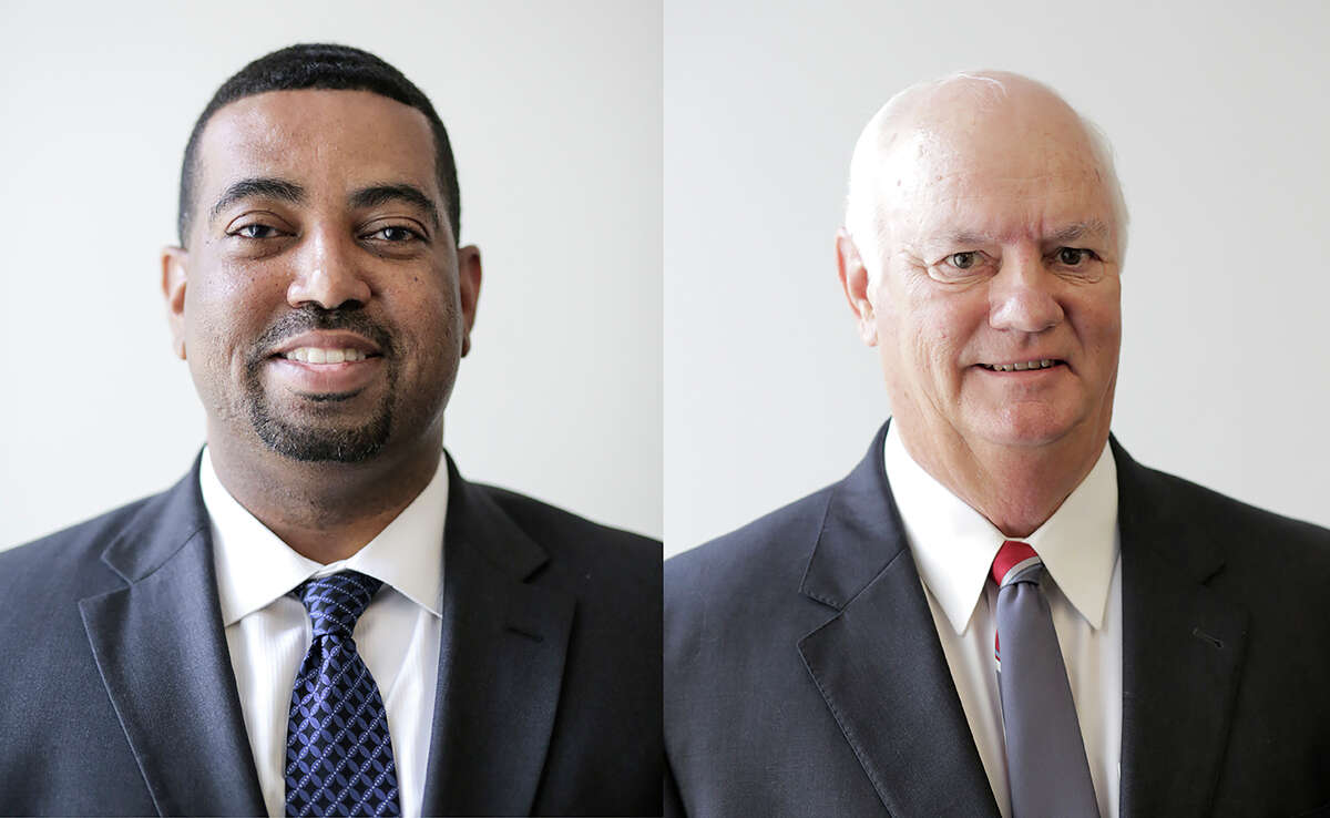 Brian Middleton, left, and Cliff Vacek are looking to become Fort Bend County District Attorney.