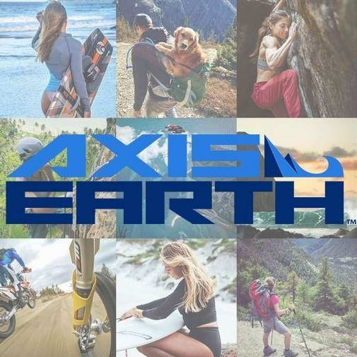 Axis Earth is an app created by Houston brother and sister Jeff and Sarah Long, as an effort to help outdoor sport enthusiasts connect with each other.
