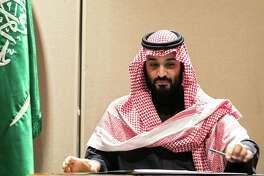 Mohammed bin Salman, Saudi Arabia's crown prince, in New York on March 27, 2018.