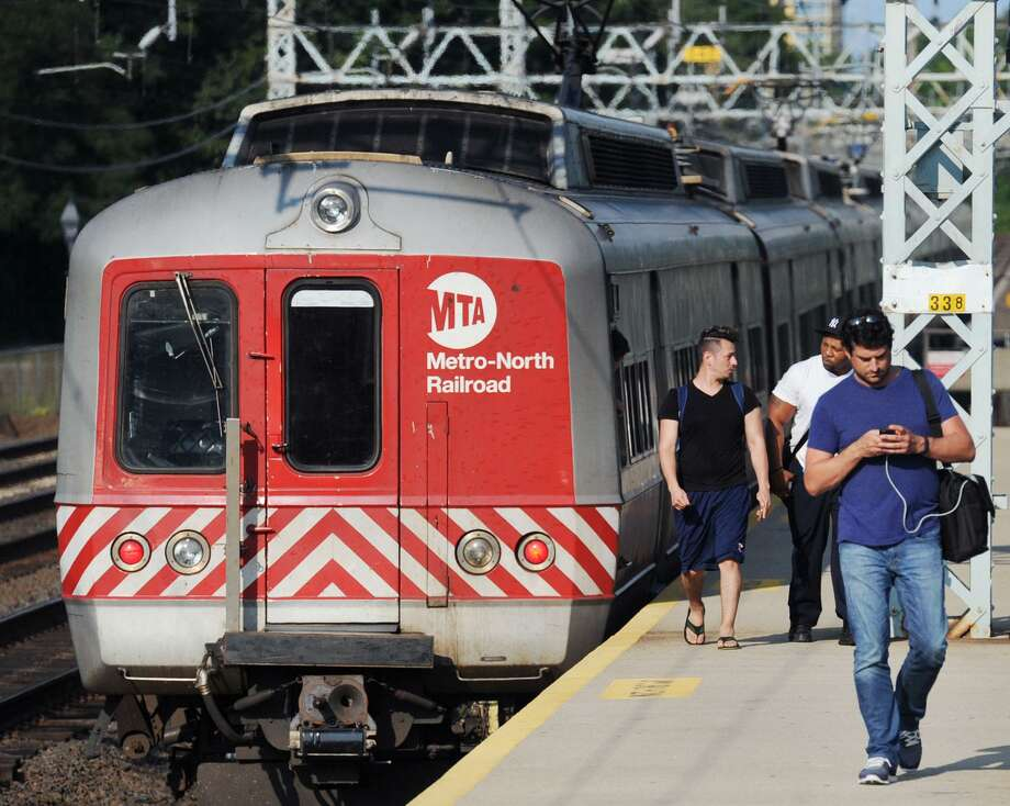Metro-North commuter fares in Connecticut are the highest in the country mostly due to the state's 24 percent subsidy — the lowest in the U.S. Photo: Bob Luckey / Hearst Connecticut Media / Greenwich Time