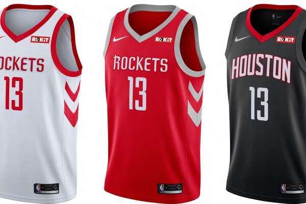 5f1bd7006 1of39PHOTOS  More looks at the Rockets  new jersey patch as well as each NBA  team s Nike uniforms