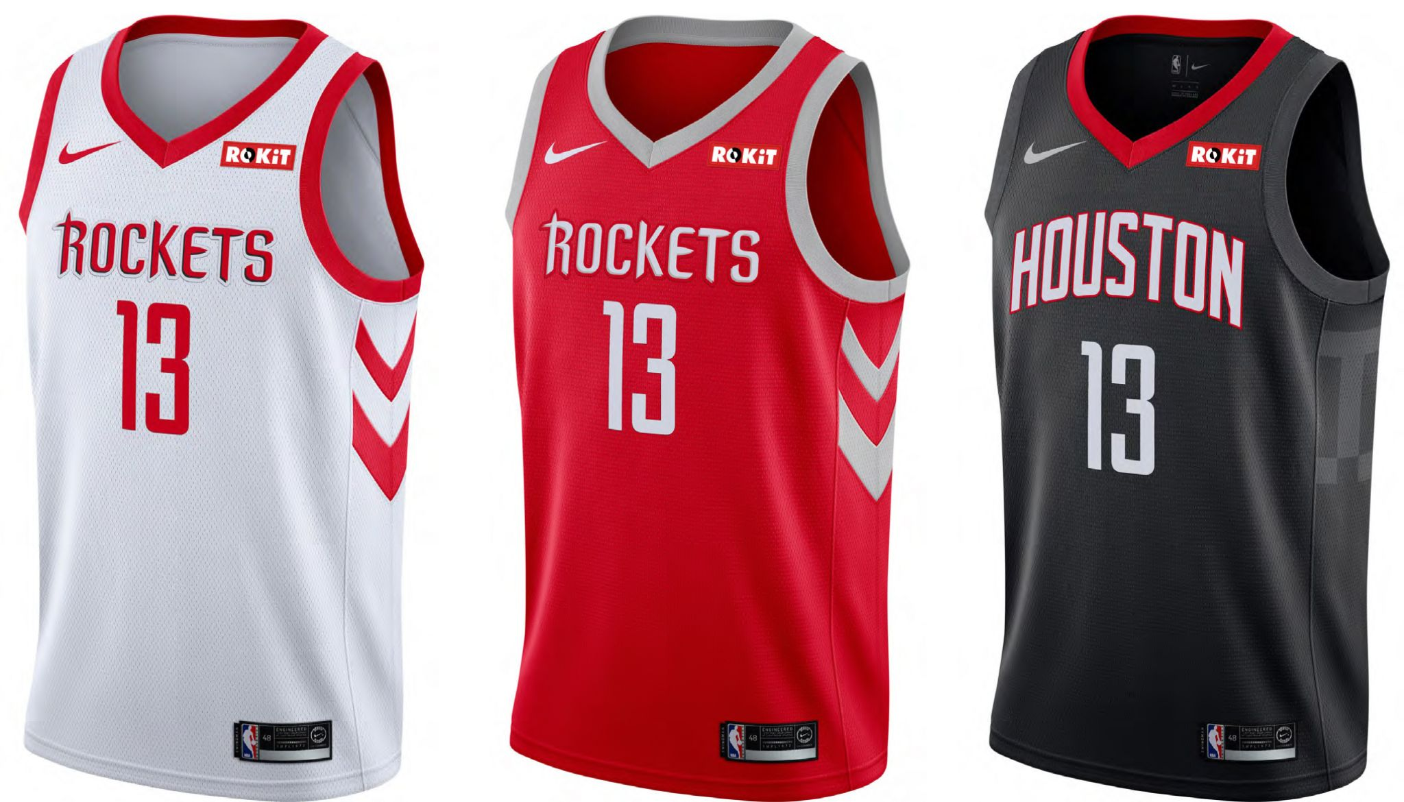 49619d799d9f Rockets announce jersey partnership deal with ROKiT Phones - Houston  Chronicle