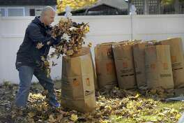 Residents can have their bagged leaves picked up by the public works department in November. They can also drop them off at the Regional Refuse District #1, located at 31 New Hartford Road in Barkhamsted.