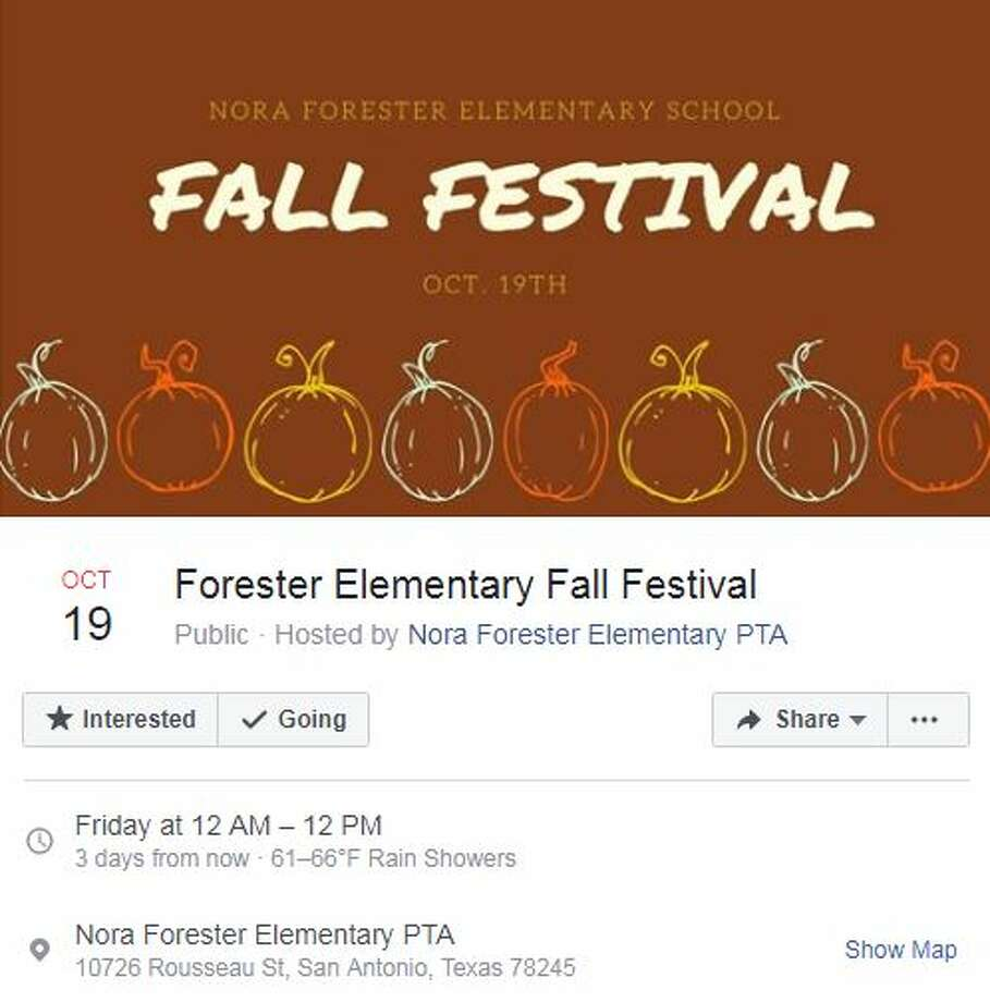 Forester Elementary Fall Festival