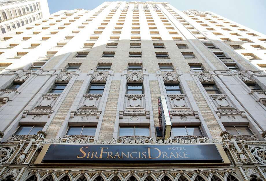 The Sir Francis Drake Hotel in San Francisco, Calif. is considering changing its name. Photo: Jessica Christian / The Chronicle