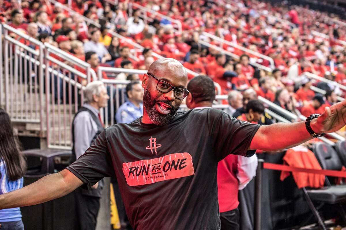 Meet DJ T. Gray, the in-house DJ for the Rockets since 2014. Gray is also a DJ for the Houston Dynamo, University of Houston football, and KRIV-Fox 26. >>> Scroll through for the Best Rockets home games on the 2018-19 schedule.
