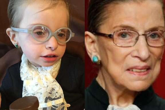 One of The Chronicle's 2012 costume contest winners was a girl who dressed like Ruth Bader Ginsburg.