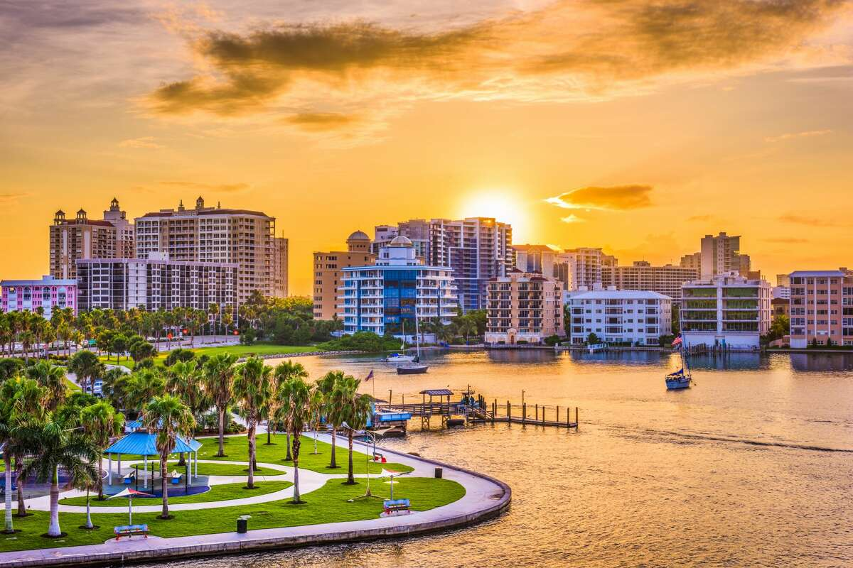 The No. 1 spot to retire is Sarasota, Florida. Four out of the top five cities on the list are located in the state of Florida, which is traditionally a popular state for retirees. Fort Meyers comes in at No. 2, Port St. Lucie at No. 3 and Naples at No. 4. Lancaster, Pennsylvania breaks up the Florida streak coming in at No. 5, but No. 6 is back to Florida with city of Ocala.