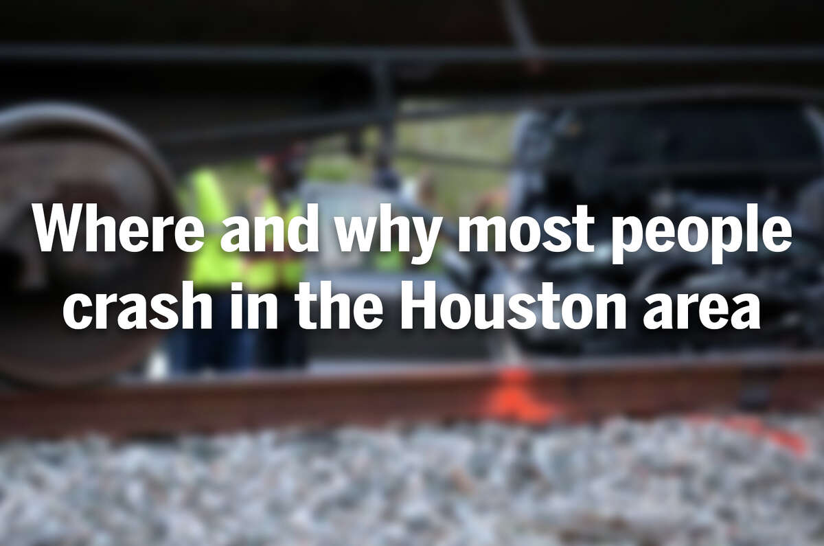Figures from the State of Safety Report show where and why most people crash in Houston area.