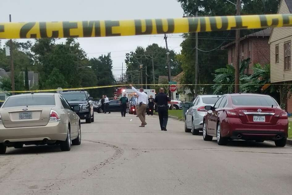 Beaumont police investigate a reported shooting Tuesday, October 16, 2018.