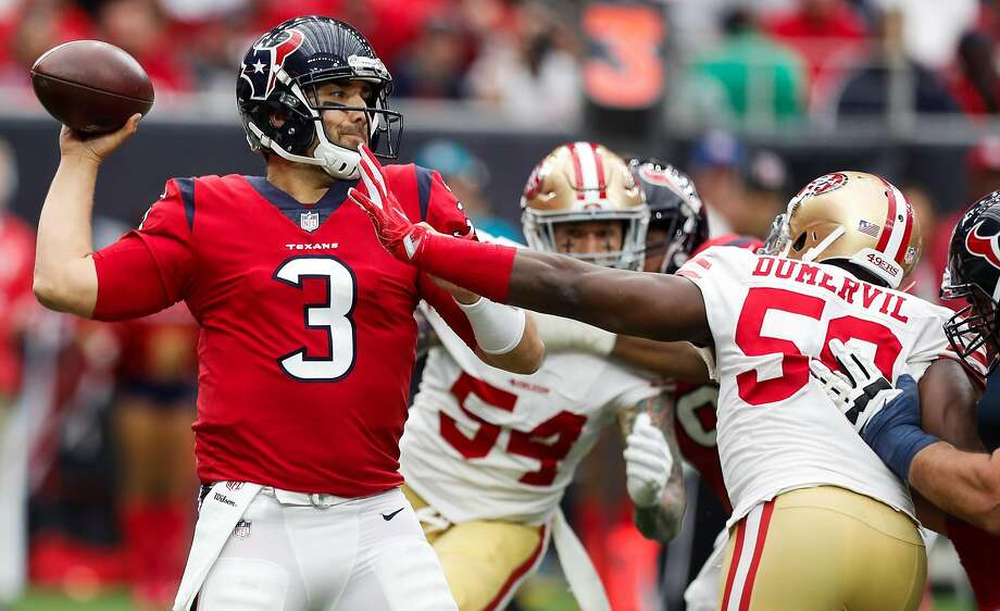 49ers sign quarterback Tom Savage