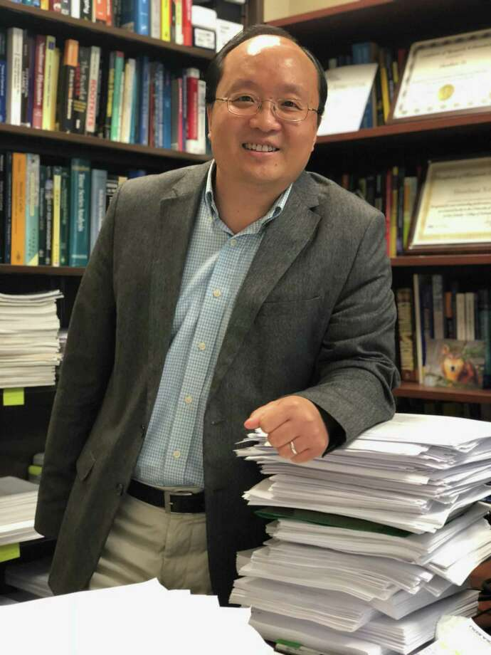 Shouhuai Xu is the director of the Laboratory for Cybersecurity Dynamics at the University of Texas at San Antonio. Photo: Courtesy Of UTSA