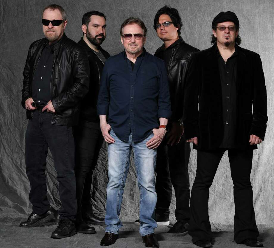 "Blue Öyster Cult, Eric Bloom, left, Richie Castellano, Donald ""Buck Dharma"" Roeser, Jules Radino and Danny Miranda, will perform at the Wall Street Theater in Norwalk on Oct. 31. Photo: Mark Weiss / Contributed Photo"