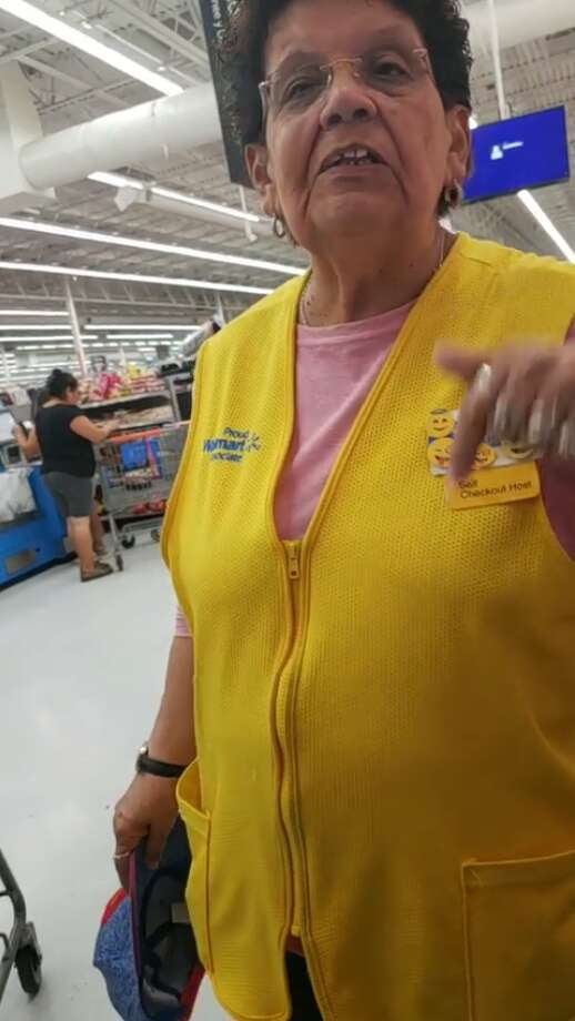 A Houston man said a Walmart employee told him to speak English. Photo: Joel Aparicio
