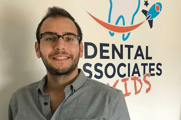 Adam Richichi, CEO of Dental Associates of Connecticut, at the practice's New Milford office.
