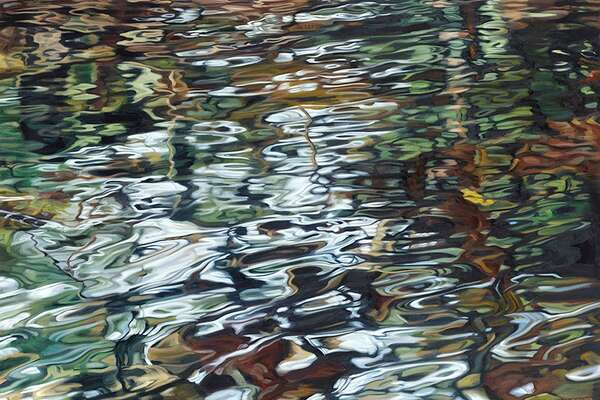 Wilton Library?'s October art exhibition, John Harris & William McCarthy: Water Air Earth, running through Nov. 8 includes Disarray by Harris. The reception is Friday, Oct. 26 at 6 p.m. at the library.