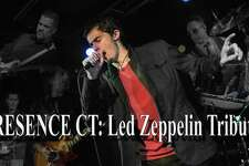 Presence, the Led Zeppelin tribute band, are performing Saturday in New Britain.