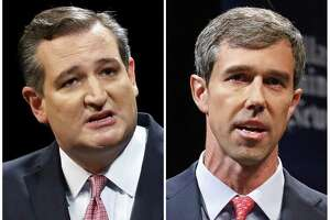 Republican U.S. Sen. Ted Cruz, left, and Democratic U.S. Rep. Beto O'Rourke, right, are locked in a tight race for the Nov. 6, 2018 election.