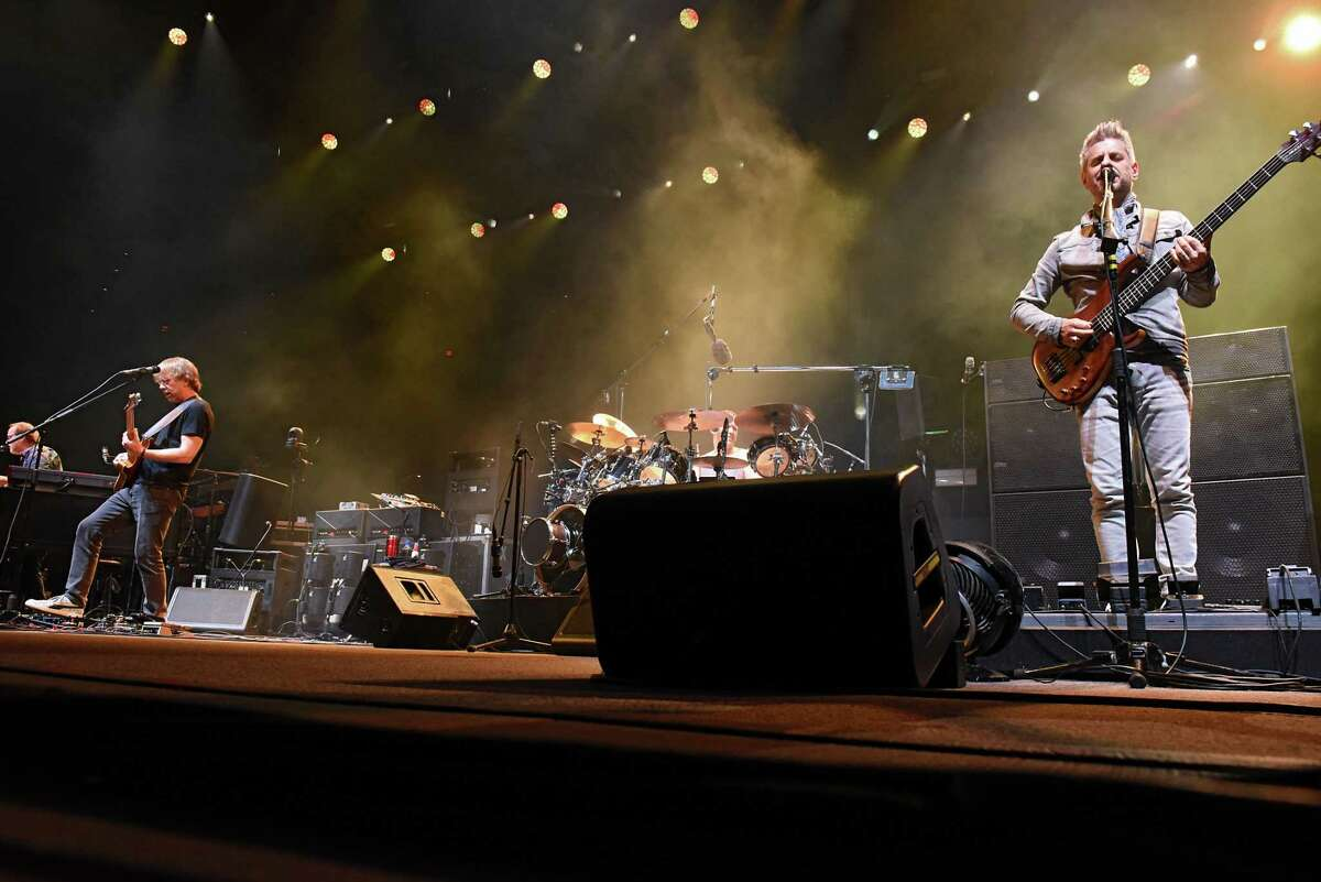 Phish performs at the Times Union Center on Tuesday, Oct. 16, 2018 in Albany, N.Y. (Lori Van Buren/Times Union)
