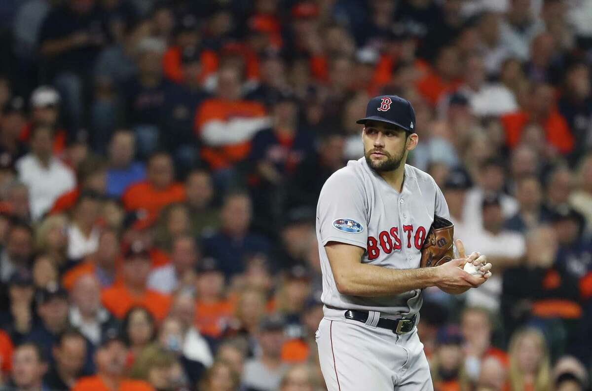 Alvin native Nathan Eovaldi could be in line to get the Game 1 start Friday night against the Astros.