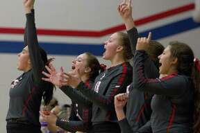 The Oak Ridge Lady War Eagles improved to 10-4 in District 15-6A after a sweep of Klein Cain Tuesday night.