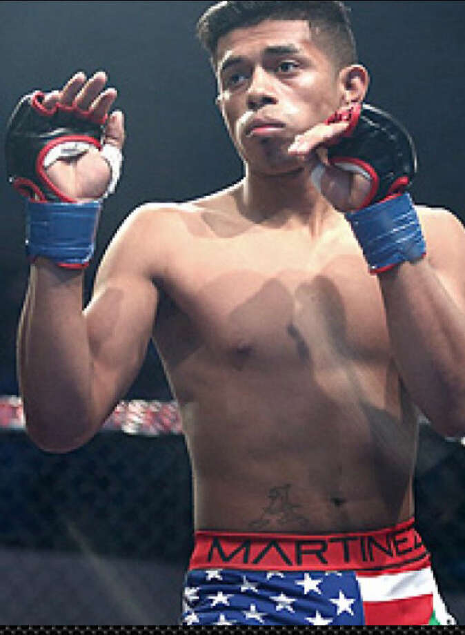 Plainview fighter Jonathan Martinez (pictured above) will make his debut in the UFC against Andre Soukhamthath at Fight Night 138 on Oct. 27 in Canada. Photo: Photo Courtesy Of Jonathan Martinez