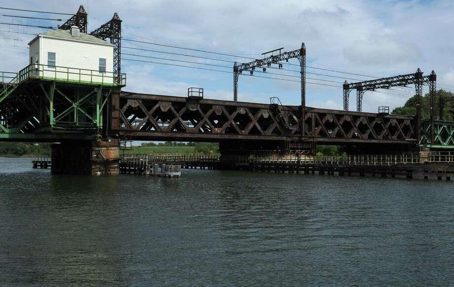 The Metro-North railroad Bridge also known as the Walk Bridge. Photo: Erik Trautmann / Hearst Connecticut Media / Norwalk Hour