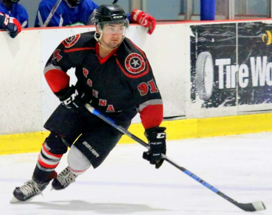 Griffen Medina scored 43 points in his last 13 games last season in the USPHL Premier with 20 goals and 23 assists. Photo: Courtesy Photo