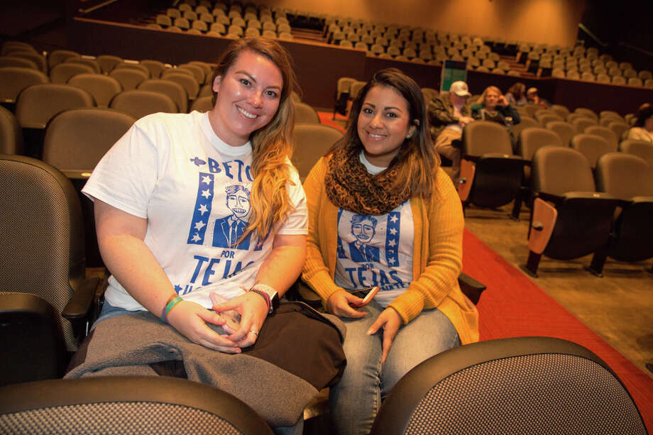 A watch party was held for the Ted Cruz vs. Beto O'Rourke Senate debate at Palo Alto College on October 16, 2018. Photo: B. Kay Richter