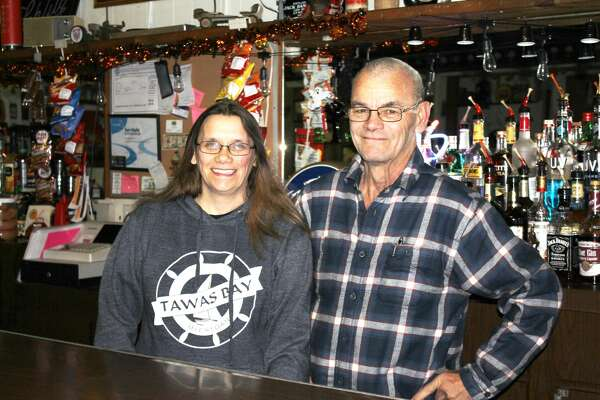 """The Gagetown Saloon at 4773 State St. is open for business. Because of all of the work that needed to be done to the building after being closed for so long, it took new owners David """"Butch"""" Czbenkus and Veronica Michalewicz three years to open."""