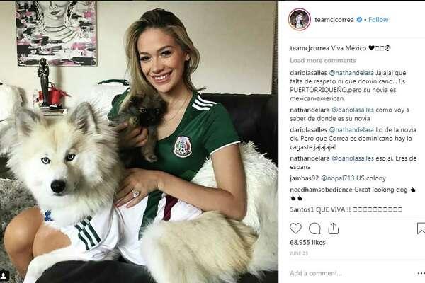 teamcjcorrea: Viva México