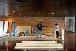 Construction inside the former Cattle Company restaurant as Ralph and Kacoo's prepares to open in Beaumont. The Cajun and seafood restaurant has locations in Lufkin, Baton Rouge, Bossier City and Mobile, Ala. Photo taken Wednesday 10/3/18 Ryan Pelham/The Enterprise