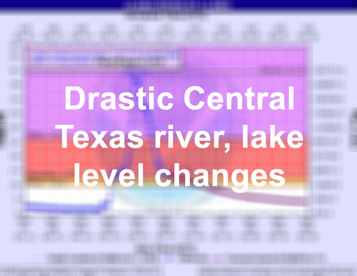 Heavy rains in October continue to increase river lake levels across Central Texas. The Lower Colorado River Authority closed five lakes across the area on Tuesday October 16, 2018 and are expected to remain closed until further notice. Click through the slideshow to see how quickly storm systems can cause sudden spikes in water level in an area of Texas known as Flash Flood Alley.