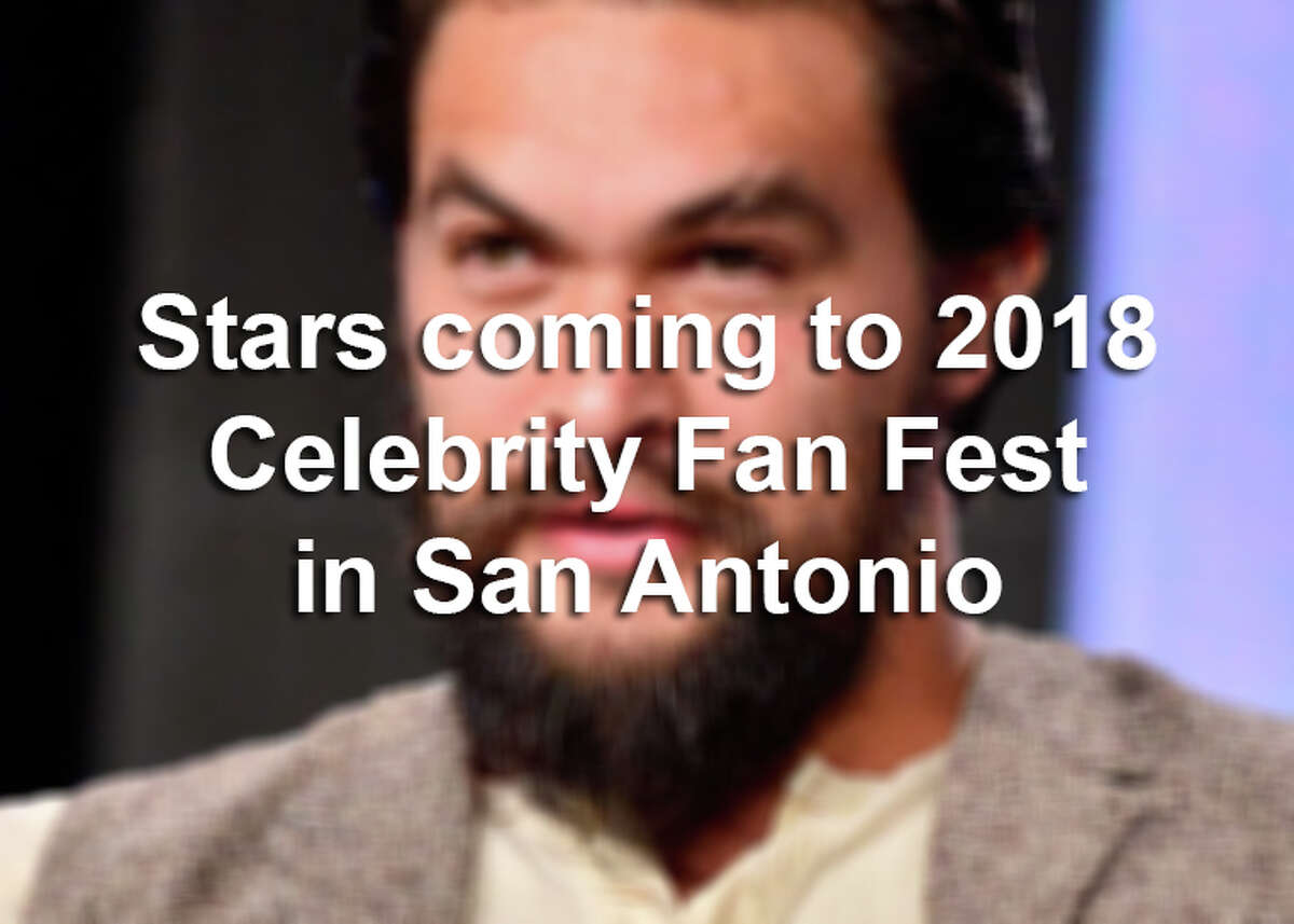 A full lineup of movie and TV actors are heading to the Alamo City for the first-ever Celebrity Fan Fest, happening Nov. 10-11, 2018. Click ahead to see which stars you'll be able to meet in San Antonio.