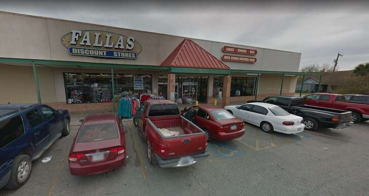 National Stores Inc. is closing nine of its San Antonio locations, including the Fallas store at100 S. Zarzamora St., as part of a bankruptcy proceeding.