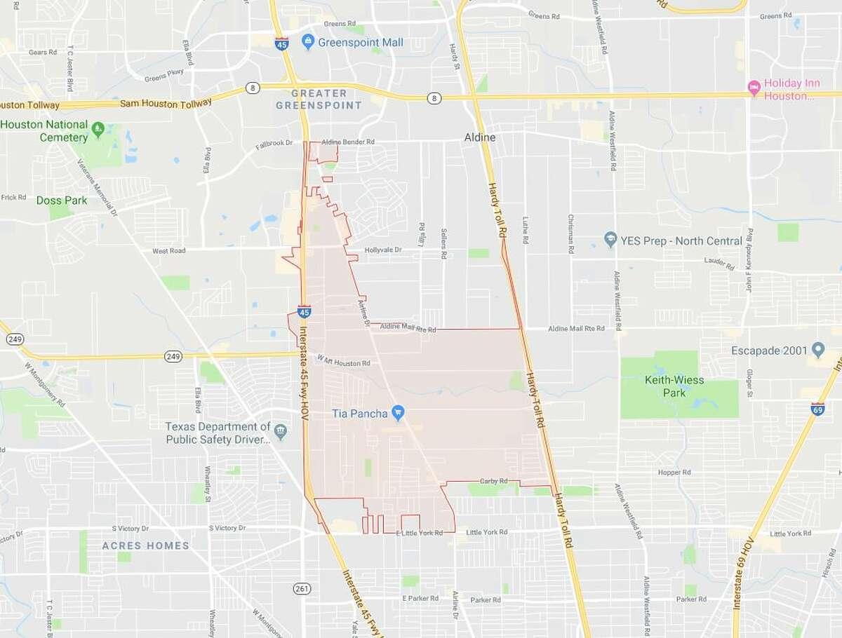 Rank: 23 ZIP Code: 77037 - North Houston/Aldine Number of registered sex offenders: 41
