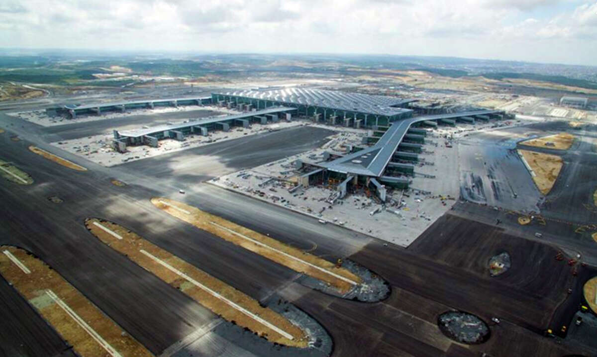 Istanbul's big new airport is expected to open in late December.