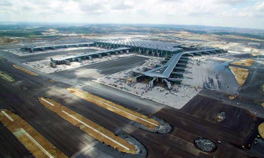 Istanbul's big new airport is expected to open in late December. Photo: IGA Airport Operation