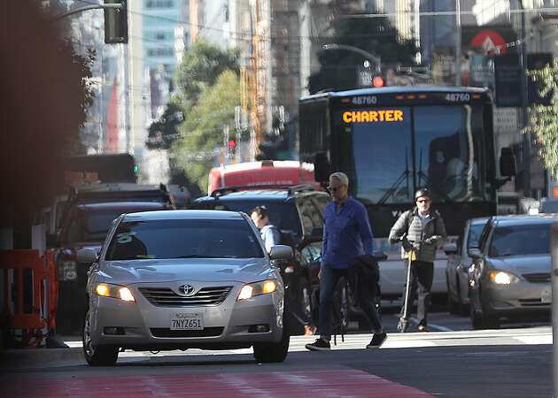 Congestion pricing: SF considering a fee to drive downtown