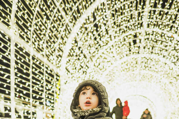 Enchant Christmas will be taking over Seattle's Safeco Field with a holiday light maze, ice skating rink and more.