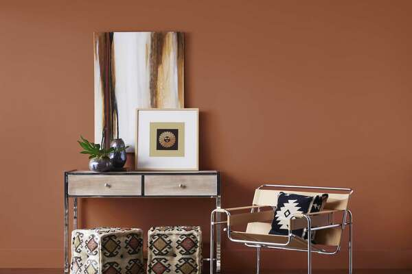 """Sherwin-Williams named """"Cavern Clay"""" as its 2019 Color of the Year."""