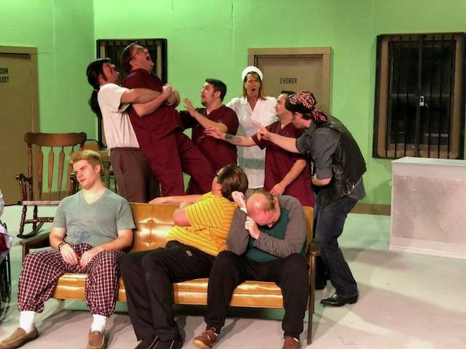 """One Flew Over the Cuckoo's Nest,"" opening Oct. 26 at Alton Little Theater. Photo: Lee Cox 