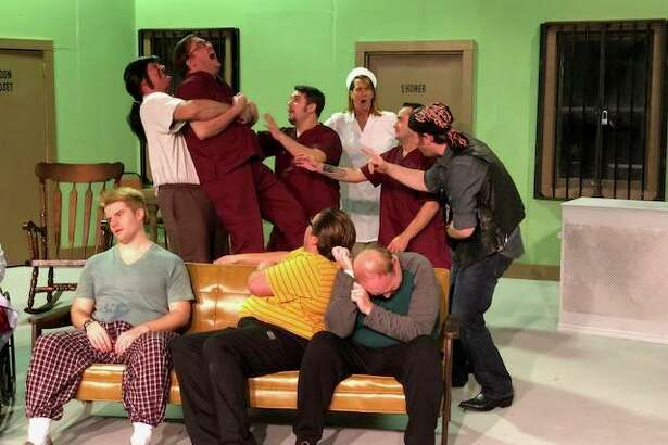 """One Flew Over the Cuckoo's Nest,"" opening Oct. 26 at Alton Little Theater."